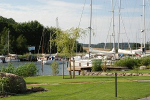 Hafen in Seedorf bei Sellin