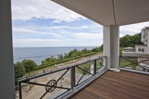Villa Claire im Ostseebad Sellin mit Meerblick