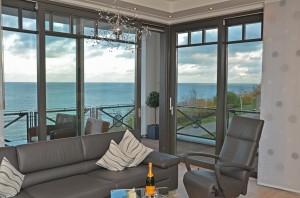 Villa Claire in Sellin mit Meerblick