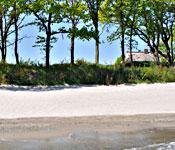 Meerblick garantiert: Reethus am Strand
