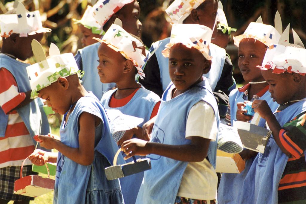 Osterfeier im SOS Kinderdorf