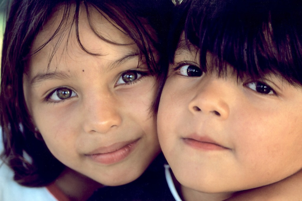 Kinder im SOS-Kinderdorf