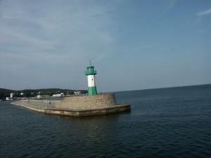 Sassnitz Leuchtturm - Mole