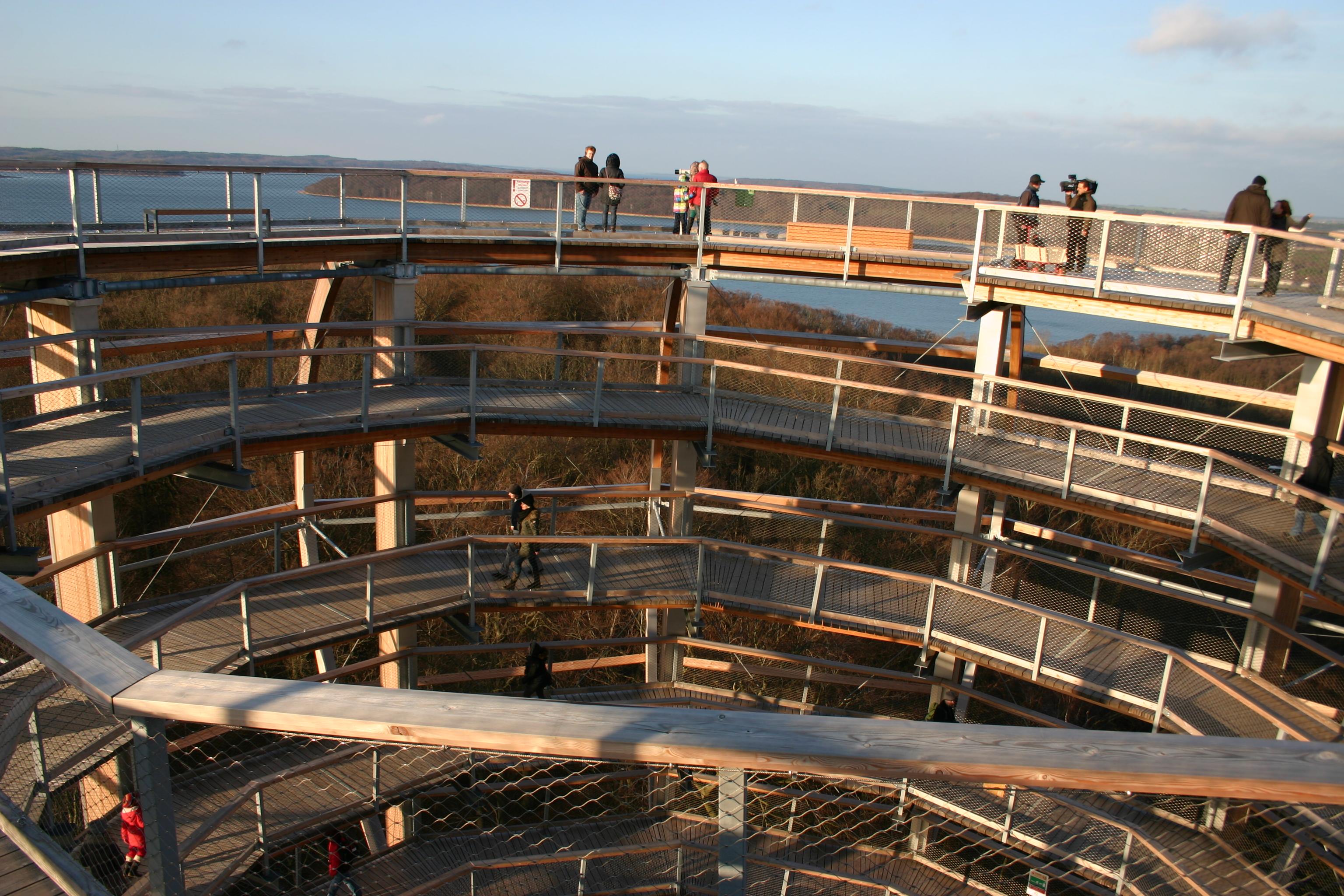 Naturerbezentrum Prora - Ausblick vom Turm