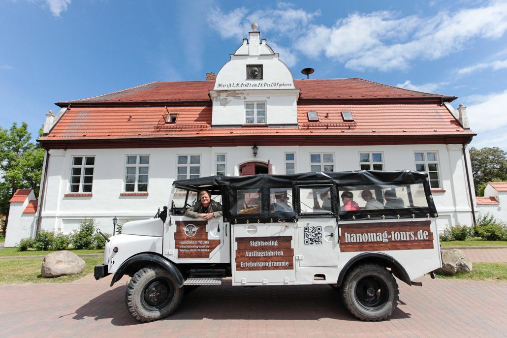 Hanomag-Tours Rügen unterwegs