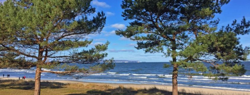 Strand Ostseebad Bin auf Rügen