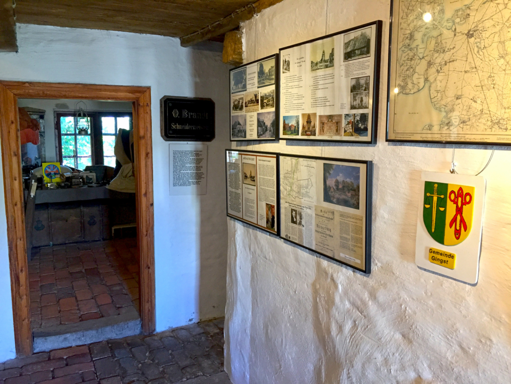 Gingst Museum in der Gemeinde Gingst