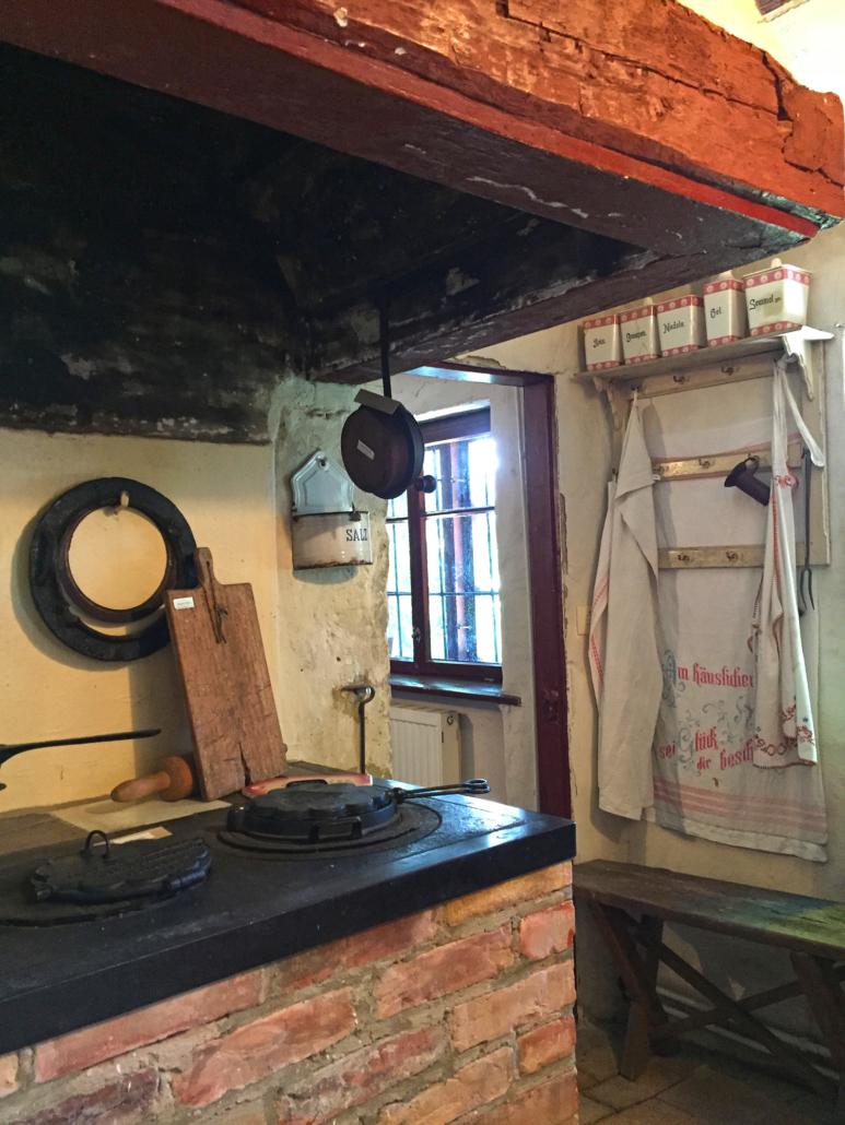 Küche im Gingst Museum