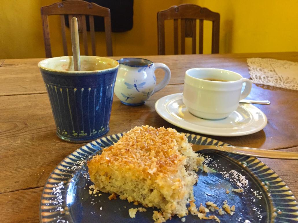 Gingst Museumscafé: Kuchen und Kaffee
