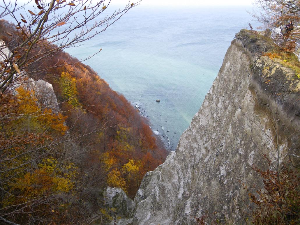 Herbst am Königsstuhl auf Rügen