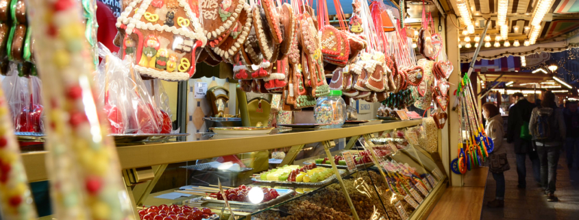 Auf dem Weihnachtsmarkt. Faszination für Groß & Klein.