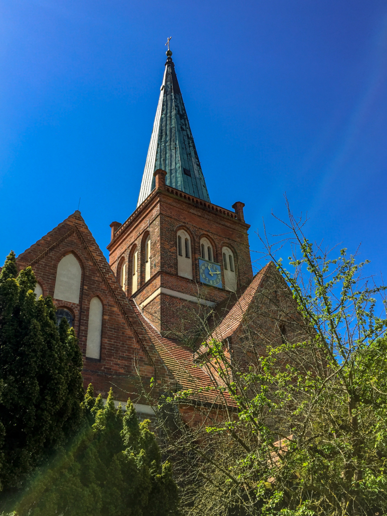 St. Marienkirche In Bergen Auf Rügen