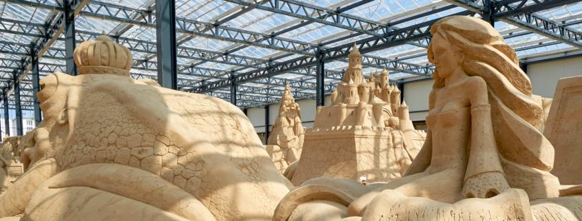 Sandskulpturen-Ausstellung Prora 2021