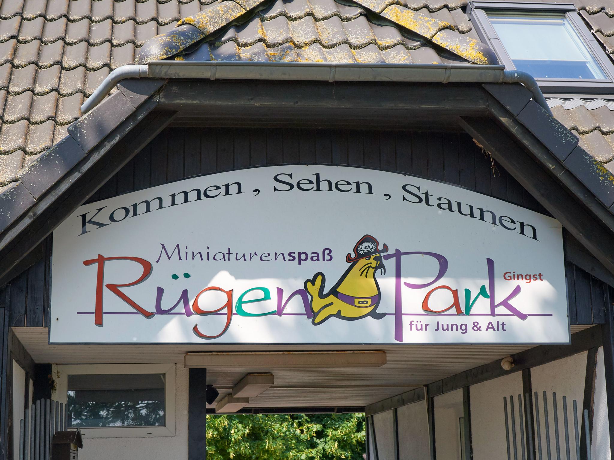 Der Rügenpark bietet Spaß und Erholung für die ganze Familie.