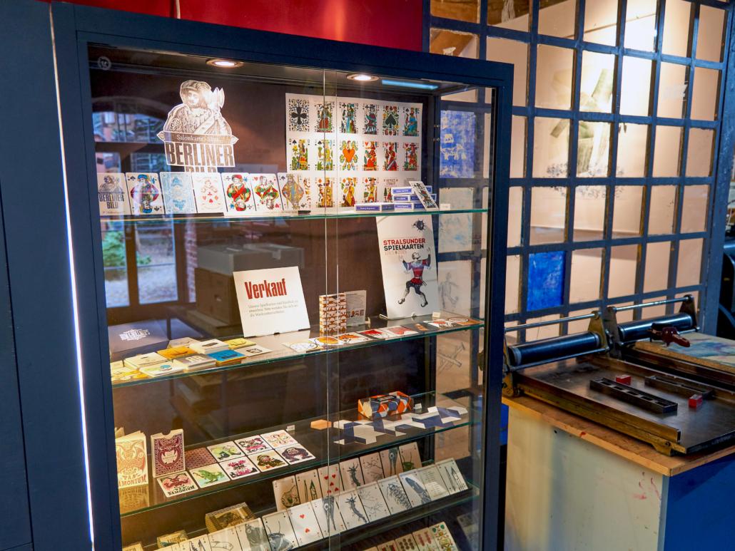 Spielkartenfabrik Stralsund   Museum