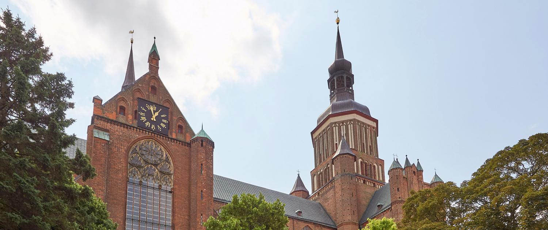 Die St. Marienkirche zu Stralsund