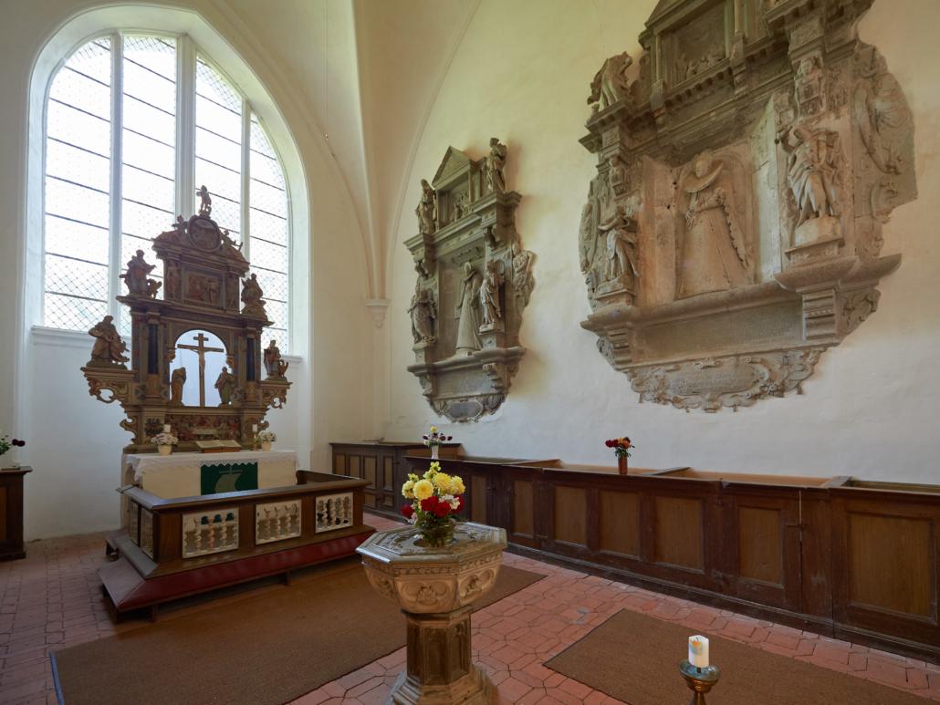 Kirche Vilmnitz