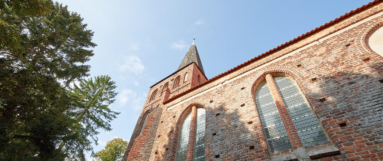 Die St. Maria Magdalena Kirche in Vilmnitz